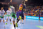 League ASOBAL 2017-2018 - Game: 14.<br /> FC Barcelona Lassa vs Helvetia Anaitasuna: 38-26.<br /> Yanis Lenne.
