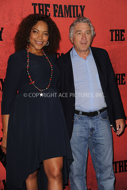 WWW.ACEPIXS.COM<br /> September 10, 2013 New York City<br /> <br /> Grace Hightower and Robert De Niro attending the World Premiere of &quot;The Family&quot; in New York City on September 10, 2013. <br /> By Line: Kristin Callahan/ACE Pictures<br /> <br /> ACE Pictures, Inc.<br /> tel: 646 769 0430<br /> Email: info@acepixs.com<br /> www.acepixs.com<br /> Copyright:<br /> Kristin Callahan/ACE Pictures