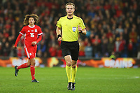 Referee Bart Vertenten during the International Friendly match between Wales and Panama at The Cardiff City Stadium, Wales, UK. Tuesday 14 November 2017