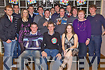 Key to the Door - John B Meehan from Doon, seated centre having a ball with friends and family at his 21st birthday bash held in The Ballyroe Heights Hotel on Friday night. Seated l/r Paudie O'Connell, John B Meehan and Ann Meehan, standing l/r Simon Egan, Simon Stokes, Joanna Fitzpatrick, Andrew Egan, Michael Egan, Billy Conway, Kevin Hurly, Bernard Collins, Padraig Nolan, Joseph Meehan, Jason Dowling, Delores Harrington and Eoghan Sugrue.......................................................................................................................................................................................................................................................................................................... ............