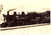 3/4 fireman side view of K-37 #490.<br /> D&amp;RGW