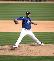 Julio Urias - Los Angeles Dodgers 2016 spring training (Bill Mitchell)