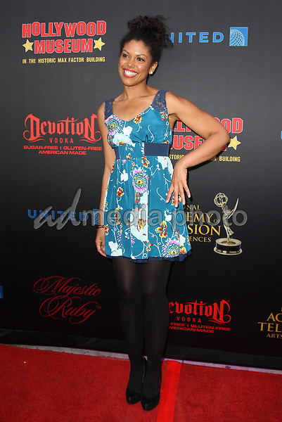 26 April 2017 - Los Angeles, California - Karla Mosley. Daytime Emmy Awards Nominee Reception held at The Hollywood Museum in the world famous Max Factor Building. Photo Credit: AdMedia