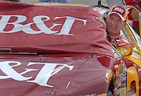 May 4, 2007; Richmond, VA, USA; Nascar Busch Series driver Clint Bowyer (2) during qualifying for the Circuit City 250 at Richmond International Raceway. Mandatory Credit: Mark J. Rebilas