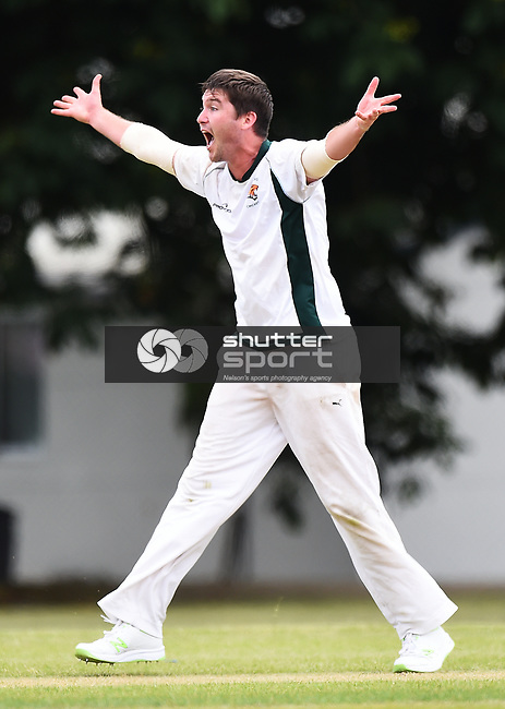 NELSON, NEW ZEALAND - DECEMBER 9: Premier Mens Cricket. Stoke-Nayland v Wamiea Toi Toi Utd at Marsden Rec. Saturday 9 December 2017. Nelson, New Zealand. (Photo by: Chris Symes/Shuttersport Limited)