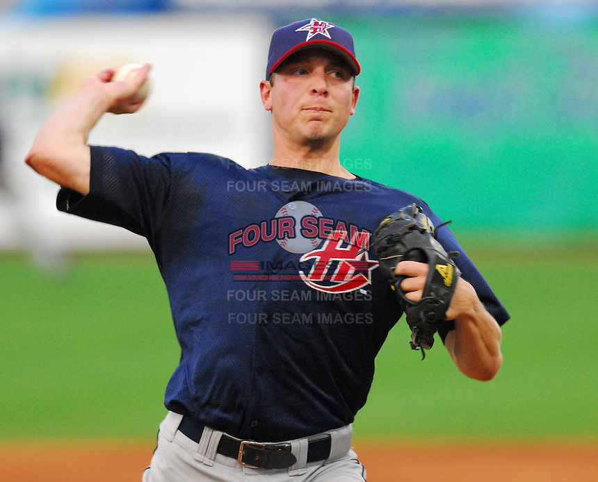 Mark DiFelice of the Huntsville Stars at the 2007 Southern League All-Star Game July 9, 2007, at Trustmark Park, sponsored by the Mississippi Braves, in Pearl, Miss. Photo by:  Tom Priddy/Four Seam Images