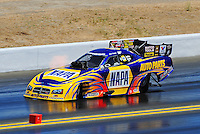 Jul. 18, 2010; Sonoma, CA, USA; NHRA funny car driver Ron Capps during the Fram Autolite Nationals at Infineon Raceway. Mandatory Credit: Mark J. Rebilas-