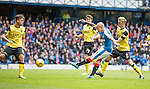 Nicky Law scores goal no 3 for Rangers
