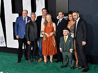 "LOS ANGELES, USA. September 29, 2019: Glenn Fleshler, Josh Pais, Brett Cullen, Frances Conroy, Joaquin Phoenix, Leigh Gill, Zazie Beetz & Marc Maron at the premiere of ""Joker"" at the TCL Chinese Theatre, Hollywood.<br /> Picture: Paul Smith/Featureflash"