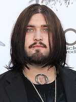 LOS ANGELES, CA, USA - APRIL 23: Weston Cage at the 2014 Revolver Golden Gods Award Show held at Club Nokia on April 23, 2014 in Los Angeles, California, United States. (Photo by Xavier Collin/Celebrity Monitor)