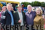 Jimmy Cullinane Cordal, Bosco McMahon Lisselton, Terence O'Connor Ballybunion and Caroline Faulkner Cordal at the horse fair at Puck Fair on Thursday