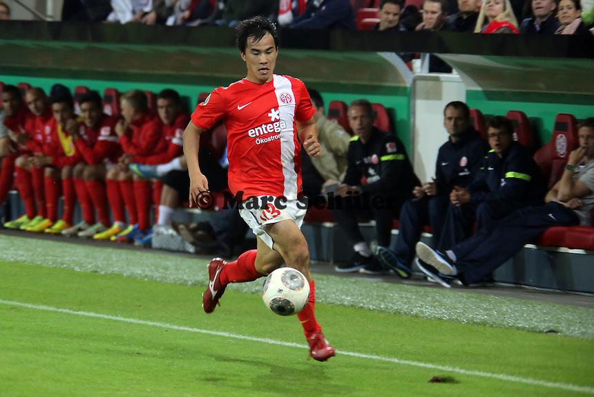 Shinji Okazaki (Mainz) - 1. FSV Mainz 05 vs. 1. FC Köln, Coface Arena, 2. Runde DFB-Pokal