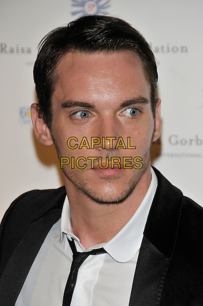 JONATHAN RHYS MEYERS.At the Russia Midsummer Fantasy, in aid of the Raisa Gobachev Foundation, Stud House, Home Park, Hampton Court, England, UK, 7th June 2008. .arrivals portrait headshot black tie white shirt.CAP/PL.©Phil Loftus/Capital Pictures