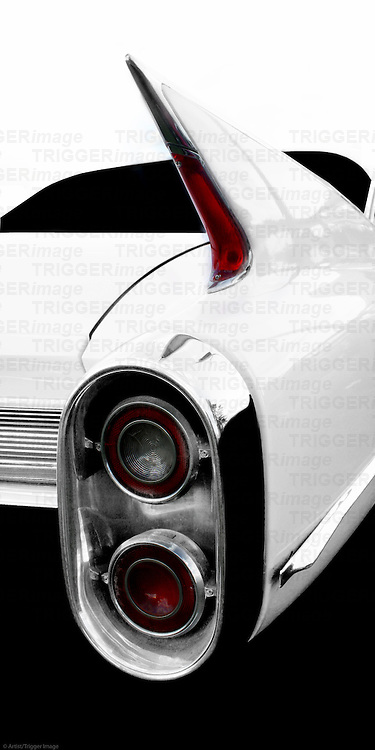 The 1960 Cadillac tail fin is one of the most iconic of the era.