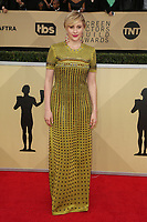 LOS ANGELES, CA - JANUARY 21: Greta Gerwig at The 24th Annual Screen Actors Guild Awards at The Shrine Auditorium on January 21, 2018 in Los Angeles, California. Credit: FSRetna/MediaPunch