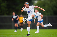 Boston Breakers defender Julie King (8). Sky Blue FC and the Boston Breakers played to a 0-0 tie during a National Women's Soccer League (NWSL) match at Yurcak Field in Piscataway, NJ, on July 13, 2013.