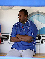 Jose Offerman / Dominican Republic manager - 2009 Caribbean Series, Mexicali..Photo by:  Bill Mitchell/Four Seam Images