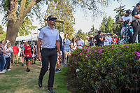Rafael Cabrera Bello (ESP) approaches the 18th tee during round 3 of the World Golf Championships, Mexico, Club De Golf Chapultepec, Mexico City, Mexico. 3/3/2018.<br /> Picture: Golffile | Ken Murray<br /> <br /> <br /> All photo usage must carry mandatory copyright credit (&copy; Golffile | Ken Murray)