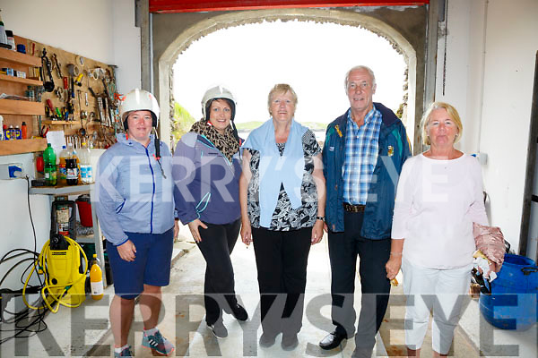 Enjoying the day at the Derrynane Inshore open day were l-r; Fiona O'Sullivan, Eileen Galvin, Kathleen Galvin, Dan Galvin & Carmel O'Sullivan.