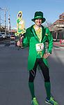 Leprechaun Matt Feeman during the 5th annual Leprechaun Run in Reno on Sunday, March 12, 2017.