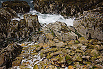 Wave-tossed cobbles of Acadia on the Schoodic Peninsula, Acadia National Park, Downeast ME, USA