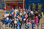 BALLOONS: Balloons were released on Saturday in the Square Tralee to mark awareness of Auitism for the month..