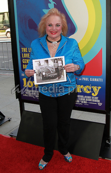 02, June 2015 - Beverly Hills, California -   Carol Connors  arrives at the 'Love & Mercy' Los Angeles premiere at the Samuel Goldwyn Theater in Beverly Hills, California. Photo Credit: Theresa Bouche/AdMedia