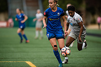 Seattle, WA - Sunday August 13, 2017: Beverly Yanez during a regular season National Women's Soccer League (NWSL) match between the Seattle Reign FC and the North Carolina Courage at Memorial Stadium.