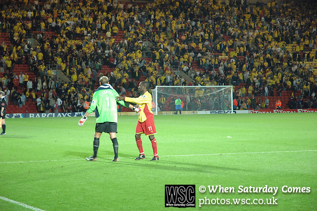 Watford 1 West Ham United 1, 22/08/2006. Vicarage Road, Premier League. Photo by Simon Gill