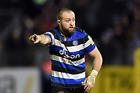 Tom Dunn of Bath Rugby. Aviva Premiership match, between Bath Rugby and Wasps on December 29, 2017 at the Recreation Ground in Bath, England. Photo by: Patrick Khachfe / Onside Images