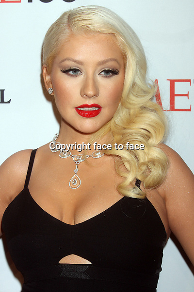 Christina Aguilera attending the 10th annual TIME 100 Gala at Frederick P. Rose Hall, home of Jazz at Lincoln Center in New York, 23.04.2013. .Credit: Rolf Mueller/face to face