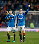 Andy Halliday and Jason Holt celebrate at full-time