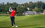 Hyo-Joo Kim of Korea hits her shot during the Hyundai China Ladies Open 2014 at World Cup Course in Mission Hills Shenzhen on December 14 2014, in Shenzhen, China. Photo by Xaume Olleros / Power Sport Images