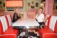 Kimberley Wyatt and Ashley Roberts<br /> at the launch party for Comedy Central's FriendsFest, presented by The Luna Cinema at Haggerston Park.<br /> <br /> ©Ash Knotek  D3146  23/08/2016