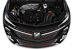 Car stock 2020 Buick Encore GX Select 5 Door SUV engine high angle detail view