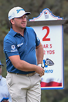 Graeme McDowell (NIR) watches his tee shot on 2 during Round 3 of the Valero Texas Open, AT&amp;T Oaks Course, TPC San Antonio, San Antonio, Texas, USA. 4/21/2018.<br /> Picture: Golffile   Ken Murray<br /> <br /> <br /> All photo usage must carry mandatory copyright credit (&copy; Golffile   Ken Murray)