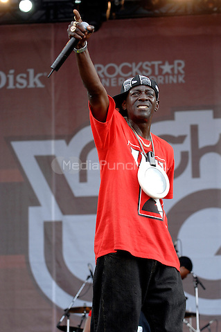 Public Enemy (Flavor Flav) performing live at the Rock the Bells festival at Randall's Island in New York City.  July 29, 2007 © David Atlas / MediaPunch
