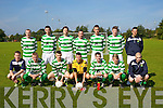 Listowel celtic Team at the Tralee Dynamos v Listowel celtic at Cahermoneen ground on Sunday