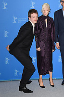 BERLIN, GERMANY - FEBRUARY 7: American actor Caleb Landry Jones and English actress Andrea Riseborough attend the 69th Berlinale International Film Festival Berlin photocall for The Kindness Of Strangers at the Grand Hyatt Hotel on February 7, 2018 in Berlin, Germany.<br /> CAP/BEL<br /> &copy;BEL/Capital Pictures