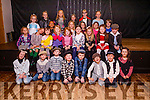 Children from the Castlegregory area took part in their Christmas Show under the direction of Sharon Costello in The Clubrooms Castlegregory on Monday evening.