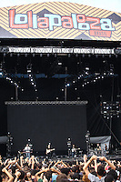 SAO PAULO, SP, 28.03.2015 - LOLLAPALOOZA 2015 - AUTODROMO INTERLAGOS, SP - Os ingleses do Alt-J se apresentam no Lollapalooza 2015, no Autodromo de Interlagos, neste Sabado, 28. (Douglas Pingituro / Brazil Photo Press)