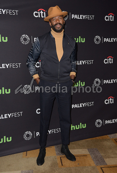 "19 March 2016 - Hollywood, California - Colman Domingo. The Paley Center For Media's 33rd Annual PaleyFest Los Angeles - ""Fear The Walking Dead"" held at Dolby Theater. Photo Credit: Birdie Thompson/AdMedia"
