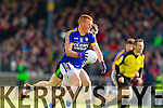 Johnny Buckley Kerry in action against  Mayo in the first round of the National Football League at Fitzgerald Stadium Killarney on Sunday.