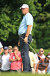 Thomas Bjorn on the 13th green on day two of the Celtic Manor wales Open 2010.Picture Fran Caffrey/Newsfile.ie