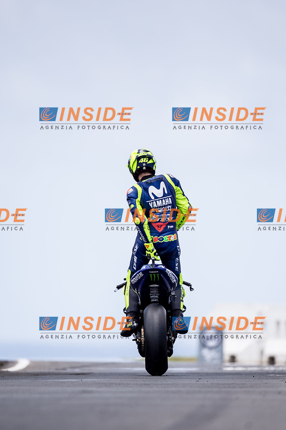 VALENTINO ROSSI - ITALIAN - MOVISTAR YAMAHA MotoGP - YAMAHA<br /> Phillip Island ( Melbourne ) 27-10-2018 <br /> Moto Gp Australia <br /> Foto Vincent Guignet / Panoramic / Insidefoto