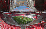 A General ground view of Benfica's Stadium of Light. Venue for the 2014 UEFA Champions league final<br /> <br /> Photographer Ian Cook/CameraSport<br /> <br /> Football - UEFA Champions league Final 2014 Pre Match Training session- Thursday 23rd May 2014 - Stadium of Light - Lisbon<br /> <br /> &copy; CameraSport - 43 Linden Ave. Countesthorpe. Leicester. England. LE8 5PG - Tel: +44 (0) 116 277 4147 - admin@camerasport.com - www.camerasport.com