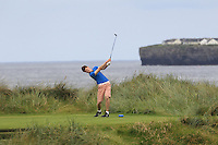 David Brady (Co. Sligo) on the 4th tee during Matchplay Round 1 of the South of Ireland Amateur Open Championship at LaHinch Golf Club on Friday 22nd July 2016.<br /> Picture:  Golffile | Thos Caffrey<br /> <br /> All photos usage must carry mandatory copyright credit   (© Golffile | Thos Caffrey)