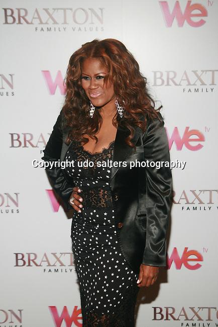 WE TV's I Do Over's Diann Valentine attends Premiere Screening of BRAXTON FAMILY VALUES Season 2 Held at Tribeca Grand, NY 11/8/11