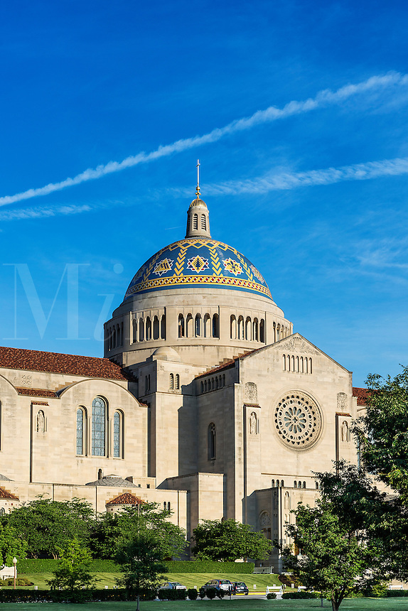 The Basilica of the National Shrine of the Immaculate Conception, Washington, D.C., USA