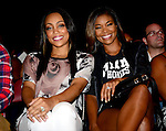 MIAMI, FL - OCTOBER 03: Monica and Gabrielle Union attend Shaquille O'Neal All Star Comedy Jam at James L Knight Center on Friday October 3, 2014 in Miami, Florida. (Photo by Johnny Louis/jlnphotography.com)
